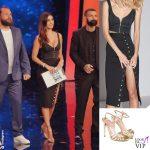 Belen Rodriguez 2 puntata Tu si que vales outfit Mur Mur scarpe Twinset 2