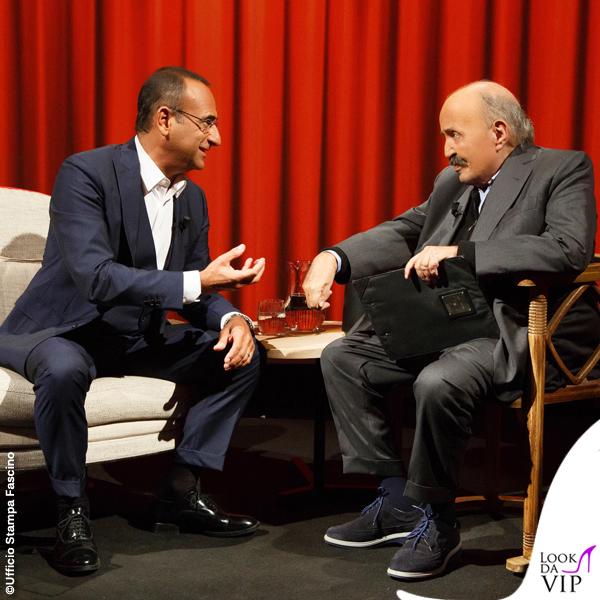 Carlo Conti a L'intervista di Maurizio Costanzo