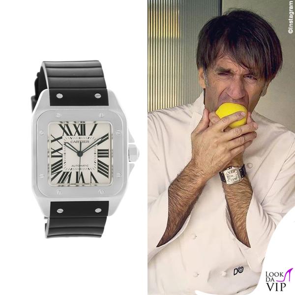 Davide Oldani orologio Cartier 2
