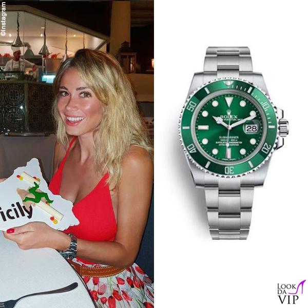 Diletta Leotta orologio Rolex 2