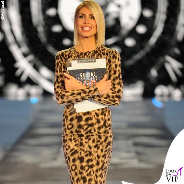 GFVip Ilary Blasi abito Le Twins scarpe Casadei 5