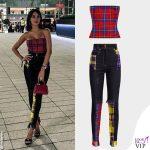Georgina Rodriguez completo Versace borsa Prada INSTAGRAM