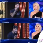 Ilary Blasi GF Vip 6 puntata tuta Norma Kamali stivaletti Le Silla Gilda