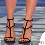 Ilary Blasi GFVip 7 puntata tailleur scarpe Dsquared2