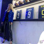 Inter Milan Wanda Nara total look Balmain 1