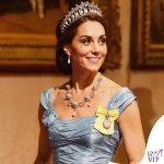 Kate Middleton abito Alexander McQueen