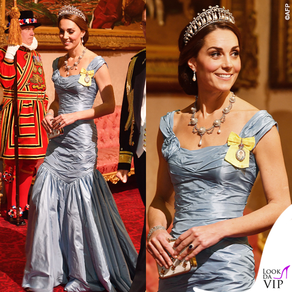 Kate Middleton abito Alexander McQueen 2