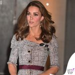 Kate Middleton abito Erdem clutch e pump Jimmy Choo 2