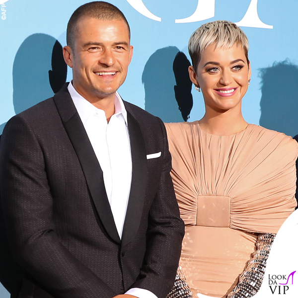 Katy Perry in Tom Ford e Orlando Bloom in Neil Barret Ocean Global