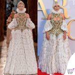 Lady Gaga abito Alexander McQueen 2