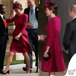 Matrimonio Eugenia Kate Middleton abito Alexander McQueen