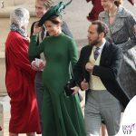 Pippa Middleton, maxi pancione alle nozze
