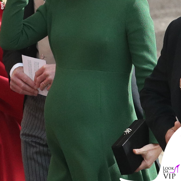 Matrimonio Eugenia Pippa Middleton abito Emilia Wickstead clutch Charlotte Olympia 2