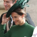 Matrimonio Eugenia Pippa Middleton abito Emilia Wickstead clutch Charlotte Olympia 5
