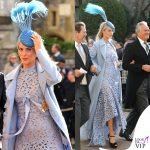 Matrimonio Eugenia Poppy Delevingne abito Oscar de la Renta