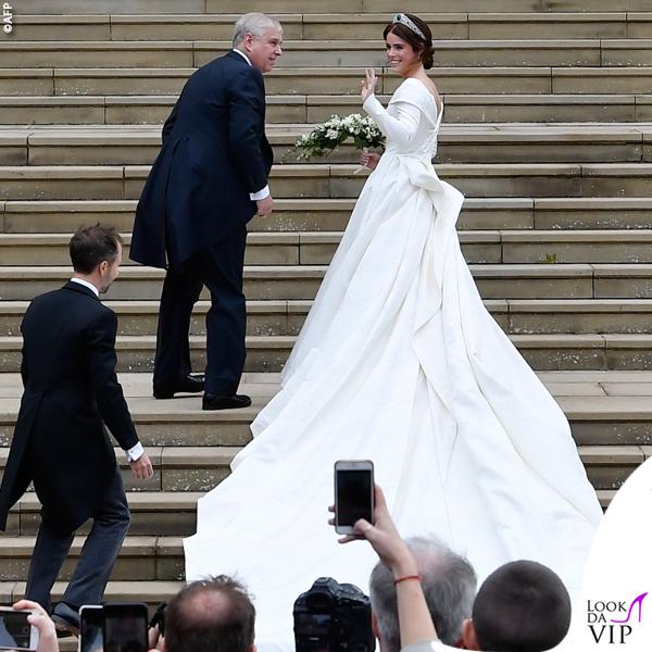 Matrimonio Eugenia abito da sposa Piter Pilotto 2