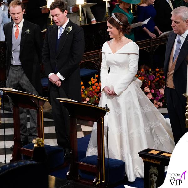 Matrimonio Eugenia abito da sposa Piter Pilotto 4