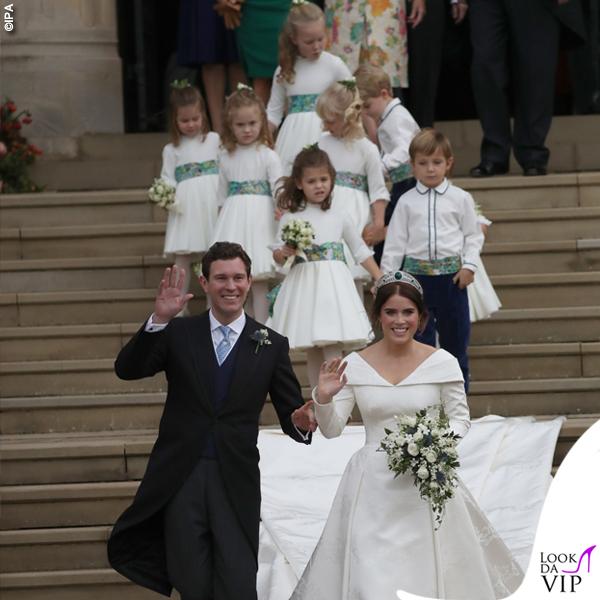 Matrimonio Eugenia abito da sposa Piter Pilotto 7