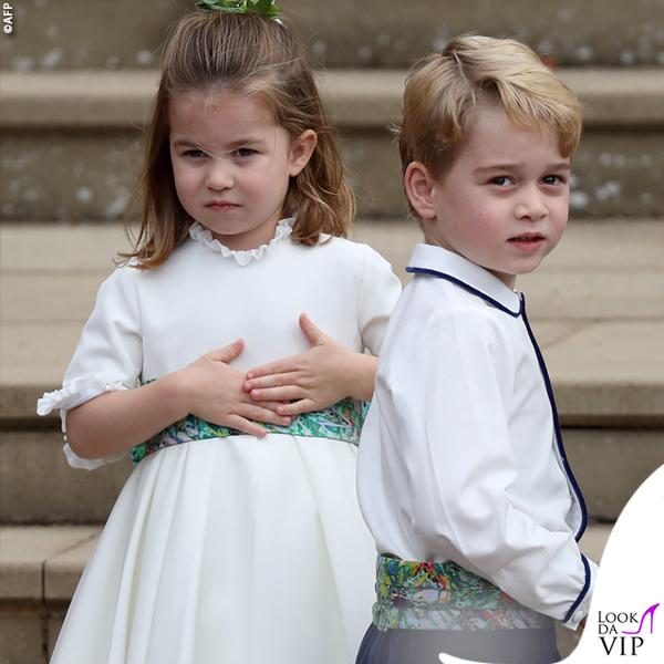 Matrimonio Eugenia principini Charlotte e George