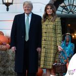 Melania Trump Halloween cappotto Bottega Veneta 2