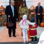 Melania Trump Halloween cappotto Bottega Veneta 6