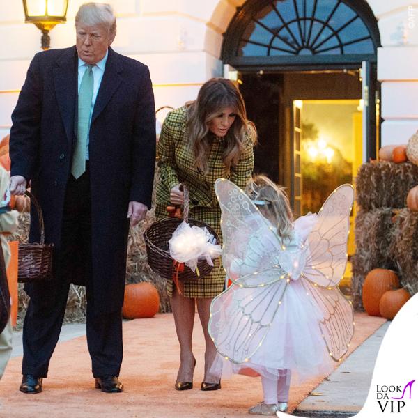 Melania Trump Halloween cappotto Bottega Veneta 8