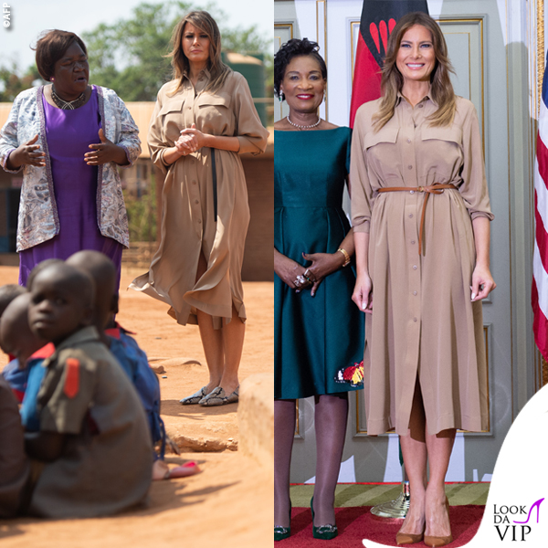 Melania Trump abito Joseph