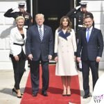 Melania Trump cappotto Gucci