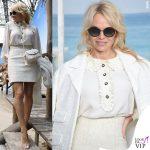 Pamela Anderson total look Chanel 2