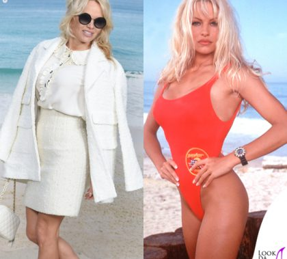 Pamela Anderson total look Chanel