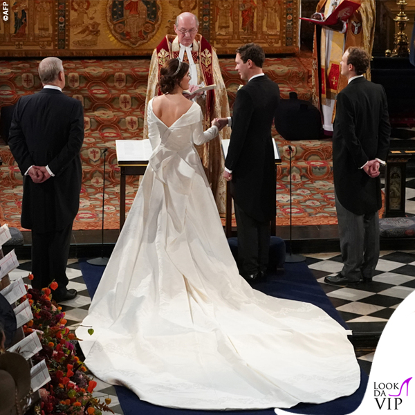 Royal Weddind Eugenia abito da sposa Piter Pilotto 1
