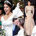 Il vestito da sposa della principessa Eugenia