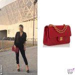 Wanda Nara t-camicia Zara pantaloni Philippe Plein borsa Chanel