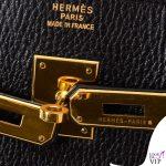 borsa Hermes Kelly dettaglio chiusura