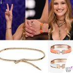 Alessandra Cantini #CR4 bracciali Hermes collier Roberto Cavalli