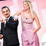 Alessia Marcuzzi 8 puntata Le Iene pantaloni Marco De Vincenzo scarpe Aquazzurra 1