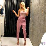 Alessia Marcuzzi 8 puntata Le Iene pantaloni Marco De Vincenzo scarpe Aquazzurra 6