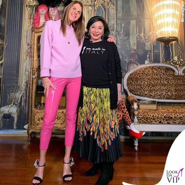 Anna Dello Russo maglione Laneus