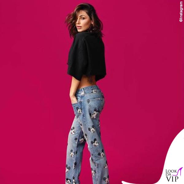 Anna Tatangelo jeans Levis