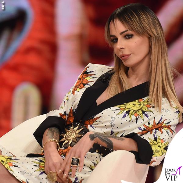 #CR4 Nina Moric total look Fausto Puglisi