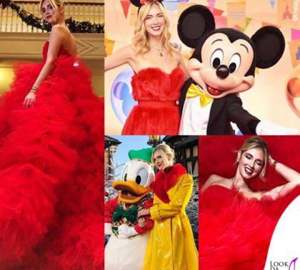 Chiara Ferragni madrina Disney abiti Giambattista Valli e Sara Battaglia