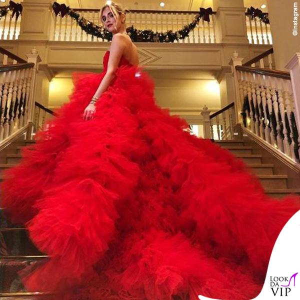 Chiara Ferragni madrina Disney abito Giambattista Valli 2