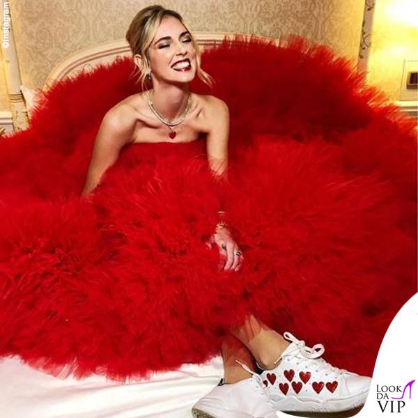 Chiara Ferragni madrina Disney abito Giambattista Valli 3