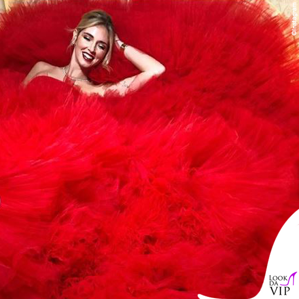 Chiara Ferragni madrina Disney abito Giambattista Valli
