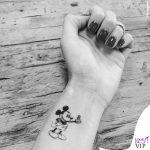 Chiara Ferragni tatuaggio Topolino