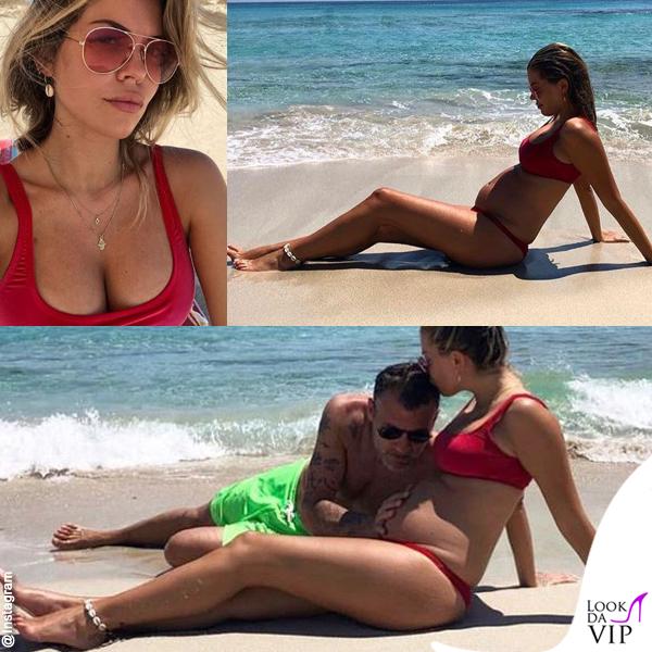 Christian Vieri Costanza Caracciolo bikini Mermazing