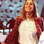 Cristina Parodi giacca e gonna Otto d'Ame tshirt Giada Benincasa