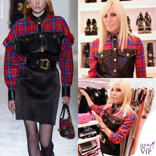 Donatella Versace guardaroba 11