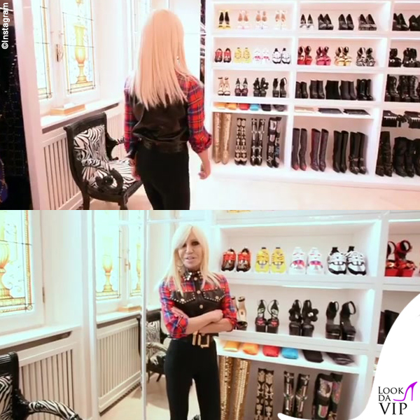 Donatella Versace guardaroba 4