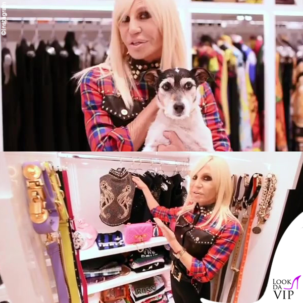 Donatella Versace guardaroba 8